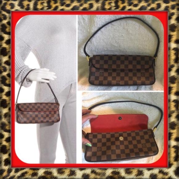 Louis Vuitton Handbags - AUTHENTIC Louis Vuitton Damier Ebene Recoleta